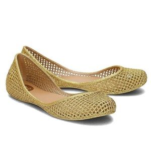 Zaxy Amora Gold Ballet Flats US 5 New With Tag